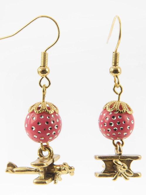 Biplans perles Rose