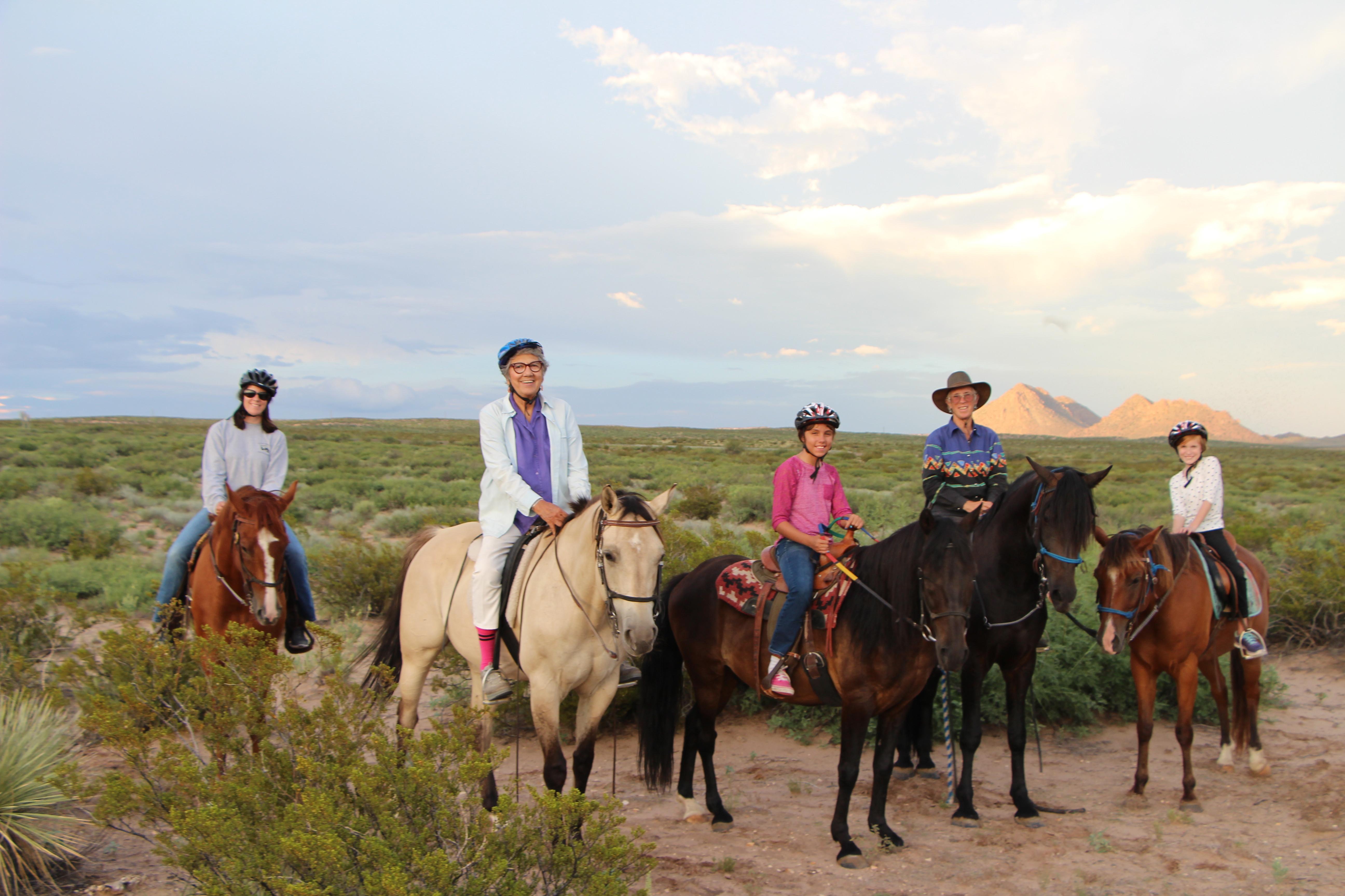 2 Hour Horseback Trail Ride