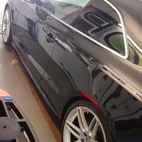 Winter protection *phase3* with its machine wax getting great results!