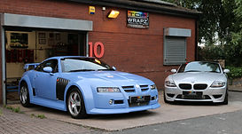 SVR mg and Supercharged Z4m