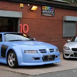 """Top Wrapz Detailed Car on Jeremy Clarksons """"Drive tribe""""!!"""