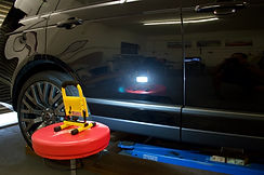 Ranger rover detailing paint inspection after correction