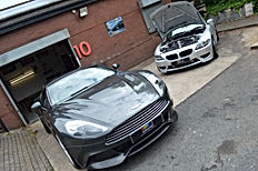Detailed Aston martin and BMW Z4m