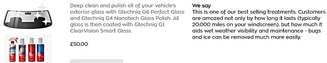 gtechniq smart glass