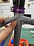 Carbon fibre bike PPF