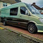 Mercedes Camper van side and Rear wrap + full front end paint correction & #Gtechniq ceramic coatings