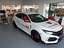 Honda Civic Type R Wrap work for Honda Birmingham!