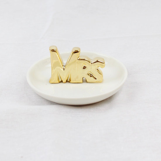 Porta anillos - Mrs