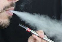 Vaping hysteria! Merely think about vaping and you'll die.