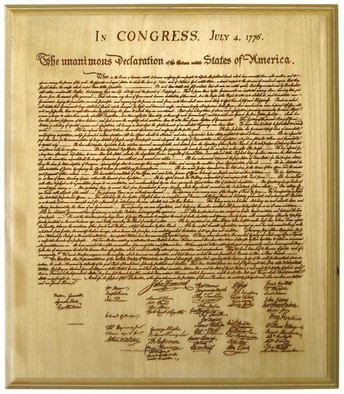 We hold these truths to be self-evident ...