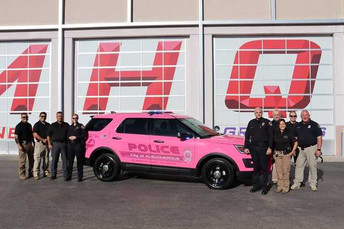 ABQ cops ain't gonna cure breast cancer. Pink cop car another dumb and worthless idea.