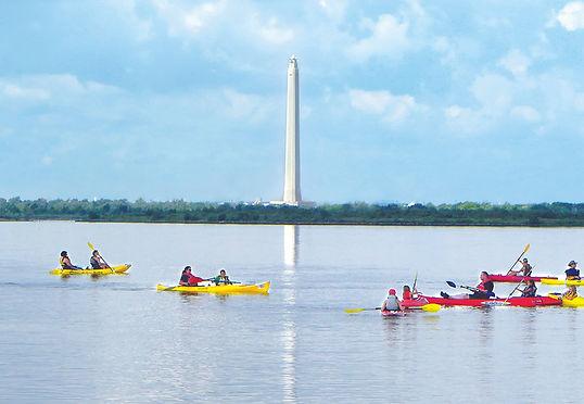 Baytown Nature Center Kayaking advertise