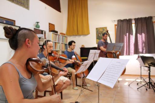 Ensemble Tramuntana hits assajant