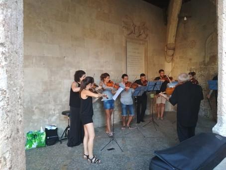 Ensemble Tramuntana assajant 24/8/2019