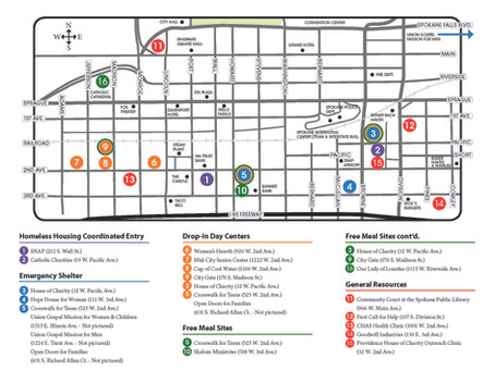 Looking for Resources Downtown Spokane?