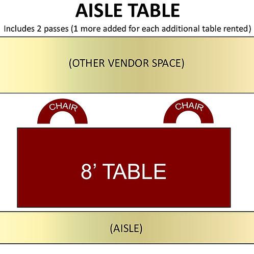 Aisle Table Rental