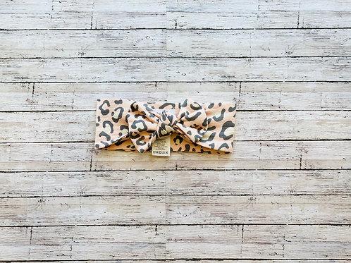 Cheetah Bow Headwrap