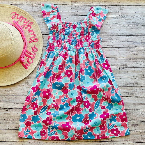 French Garden Smocked Dress