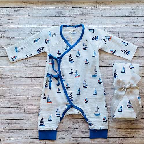 Sailboat Wrap Coverall