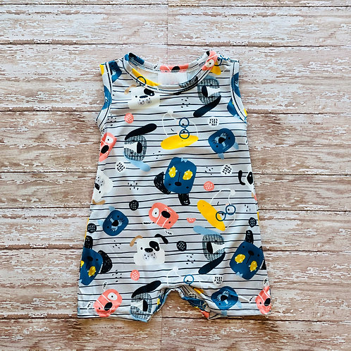 Puppy Party Romper
