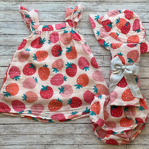 Strawberry Sundress/Set