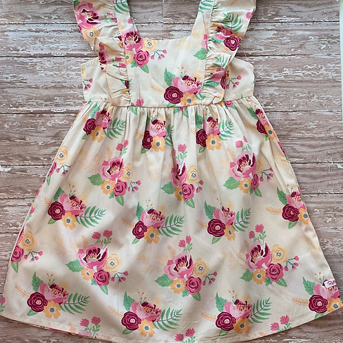 Darling Bouquets Ruffle Dress