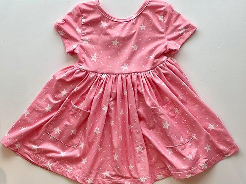 Star Pocket Twirl Dress