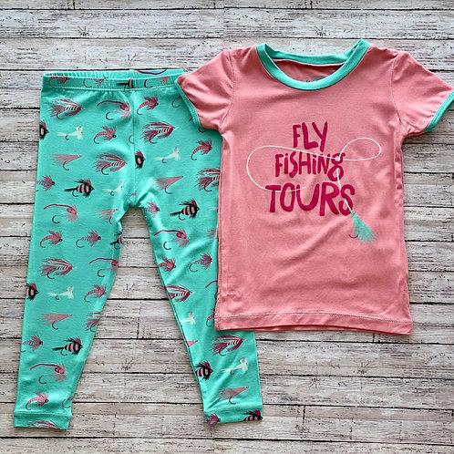 Glass Fly Fishing Tours Pajama Set