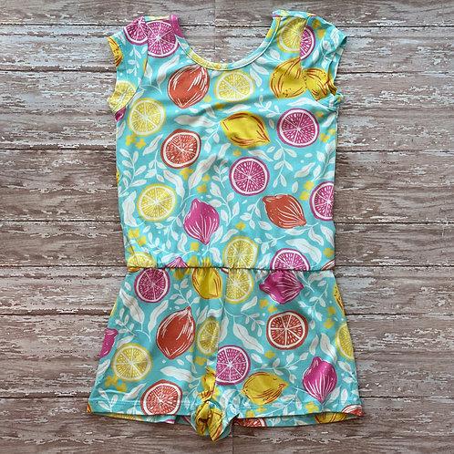 Pink Lemonade Faux Dress Romper