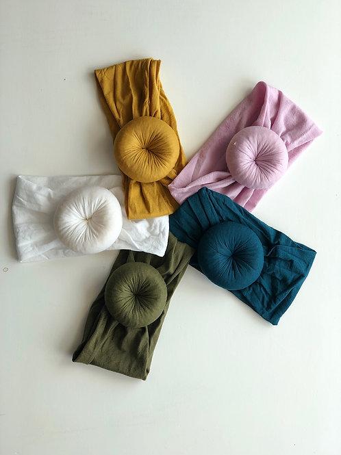 Too Cute Nylon Bun Headwrap