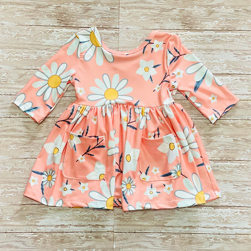 Daisy Darling Pocket Twirl Dress