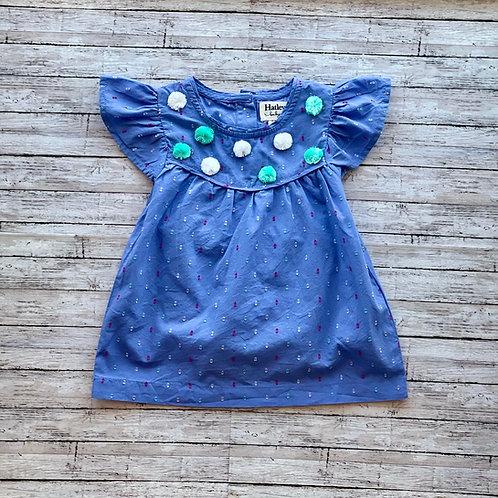 Swiss Dots Flutter Dress