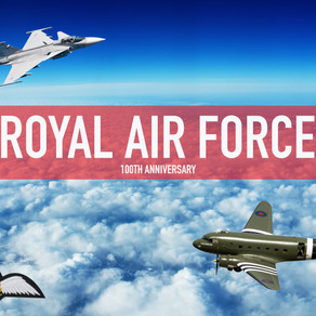 In keeping with next month marking the 100th anniversary of our very own British RAF we want to take
