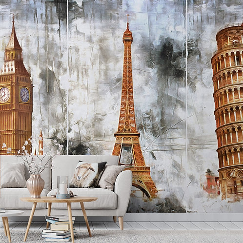 Wonders of the World, Monuments Wallpaper for Walls, Customised
