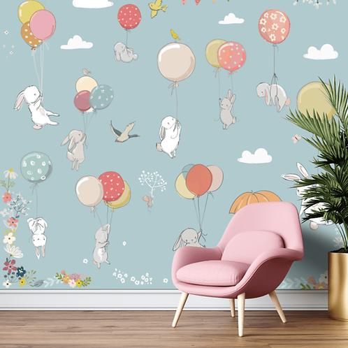 Animals & Balloon Theme