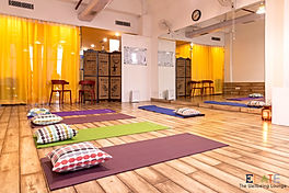 Elate Wellbeing Lounge- a serene studio for best yoga and meditation classes in Gurugram