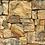 3D Random Stone Tiles Wallpaper Front Look
