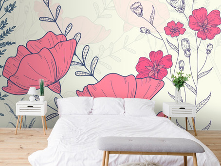 Wallpaper themes for bedroom walls