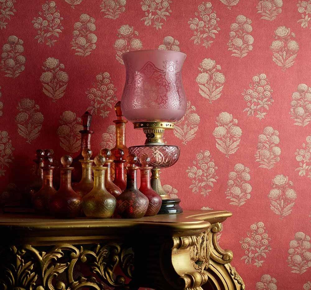 LifeNcolors-best-wallpaper-branded-luxury-pattern-golden-pink