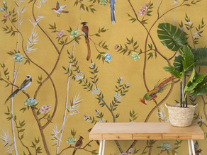 All you want to know about Chinoiserie design wallpapers