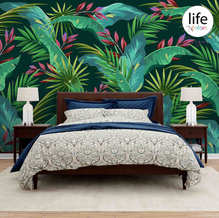 Nature themed tropical leaves wallpapers