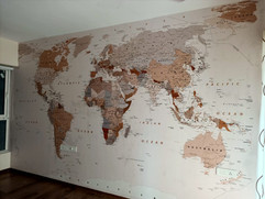 Life N Colors, World Map Wallpaper Site Image