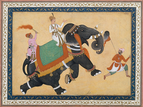 Mughal Style Indian Painting