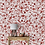Thumbnail: Red Colors Floral Elements Wallpaper Design, Customised