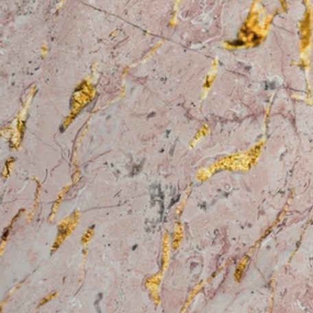 Pink and Golden Marble Stone Wallpaper for Rooms