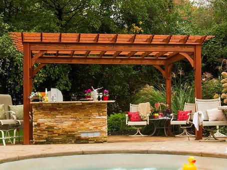 Wooden Pergolas- Beautiful Spaces!