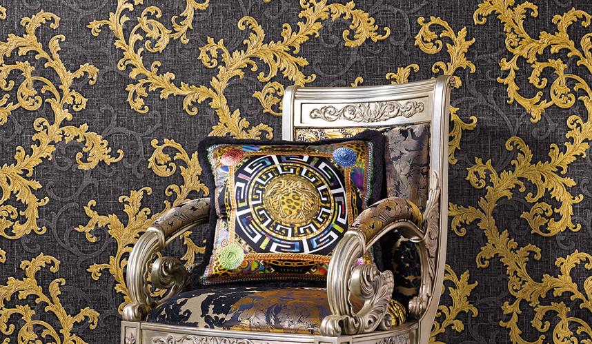 LifeNcolors-best-wallpaper-branded-luxury-pattern-golden-black