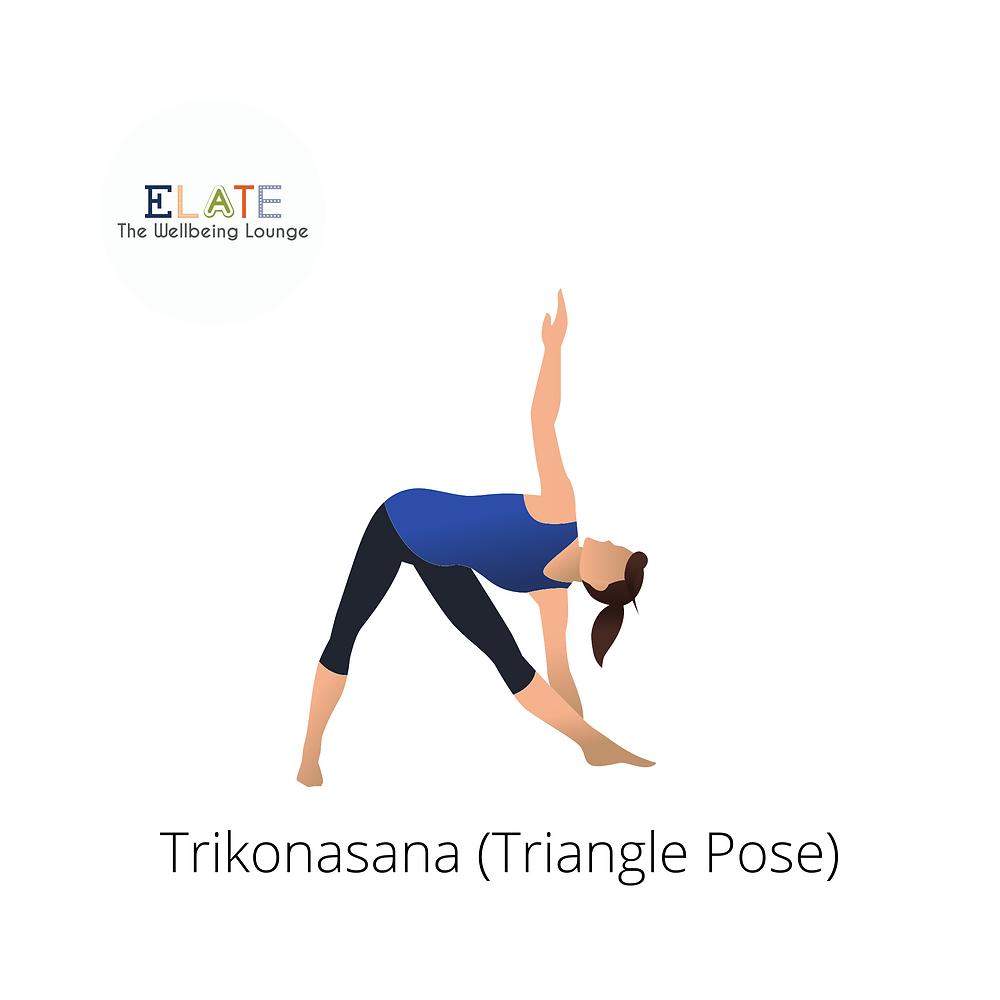 Know your yoga asana: Trikonasana (Triangle Pose)