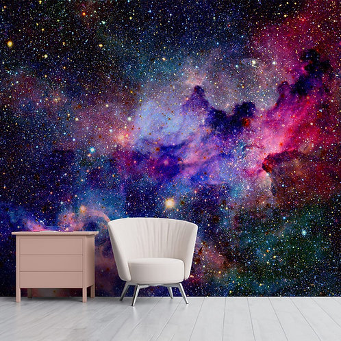 Galaxy and Space Themes Wallpaper for Walls and Ceilings, Customised