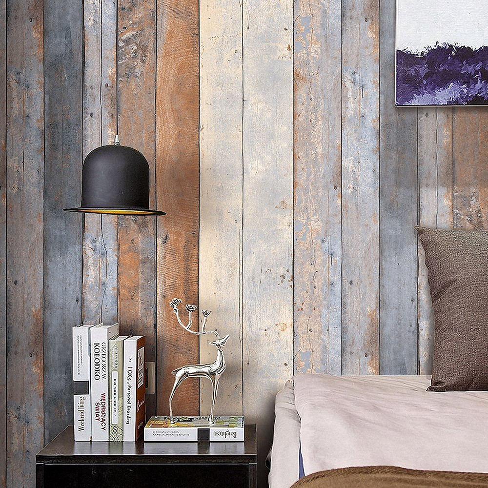 Wooden Panel Wallpapers Life N Colors